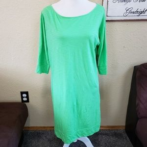 Lilly Pulitzer Dress Cassie Lime Green Large L